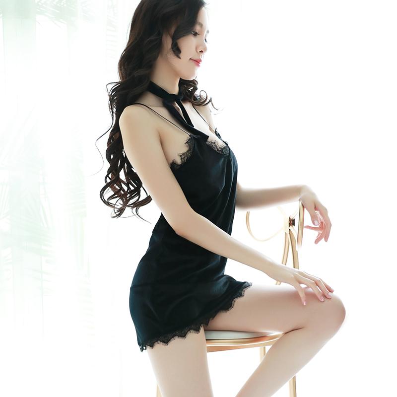 JD Коллекция 7115 черный дефолт gfm эротическое белье новейшее прозрачное ночное платье кружевное летнего типа