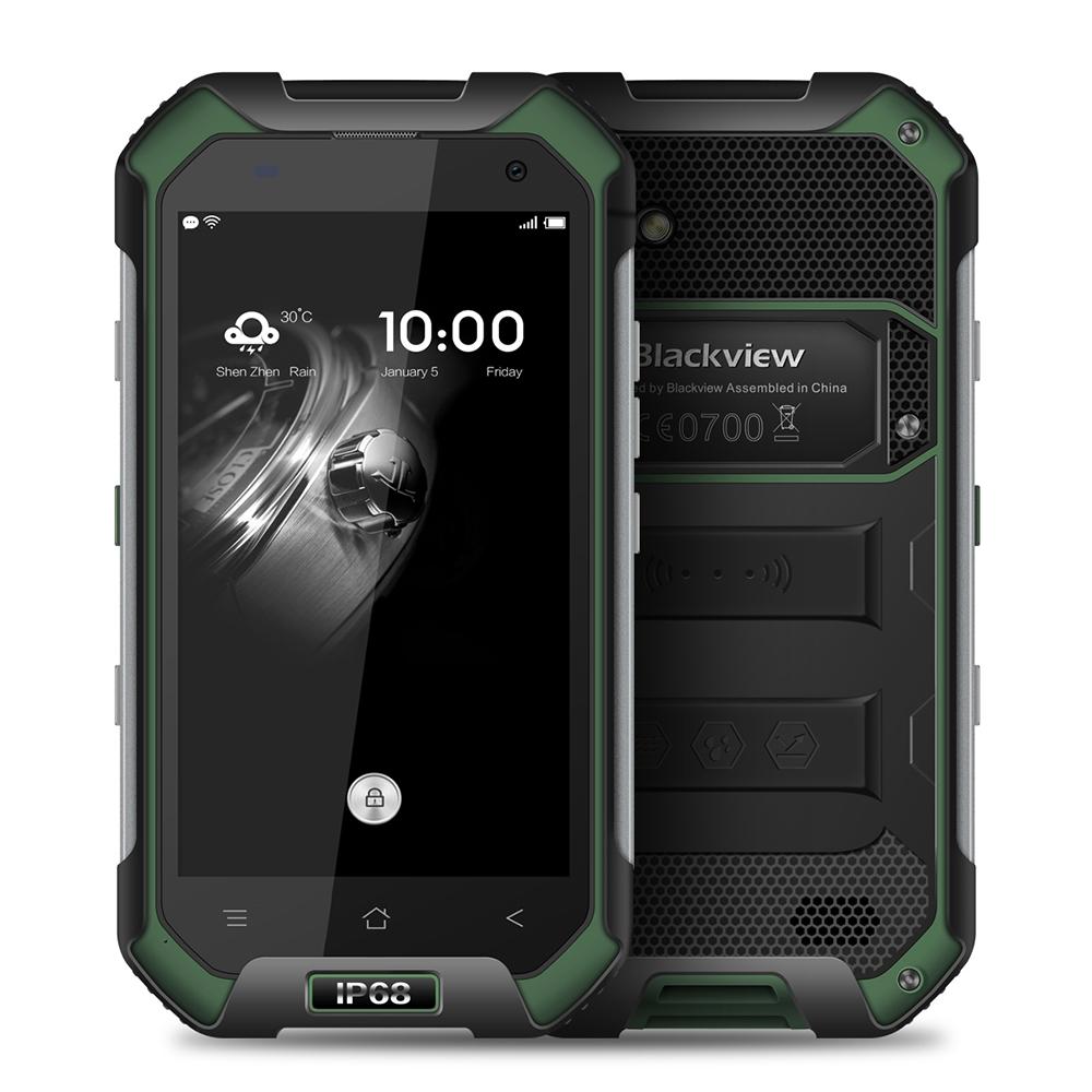 Blackview зеленый Стандарт ЕС смартфон
