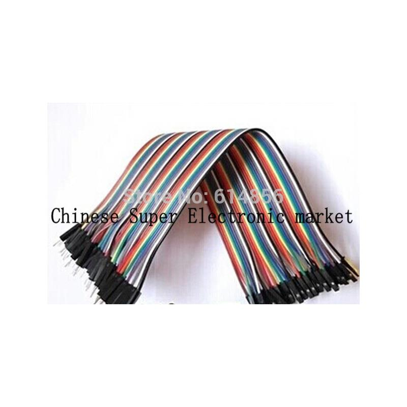 IC 100pcs dupont jumper wire cable housing female pin contor terminal 2 54mm new