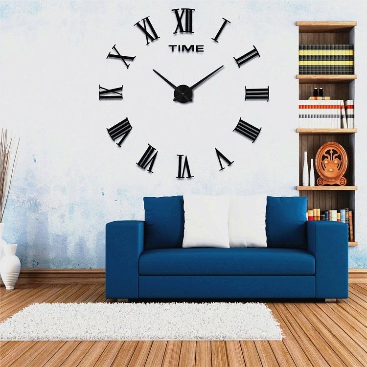 suwumu Чёрный цвет часы настенные proffi home корица