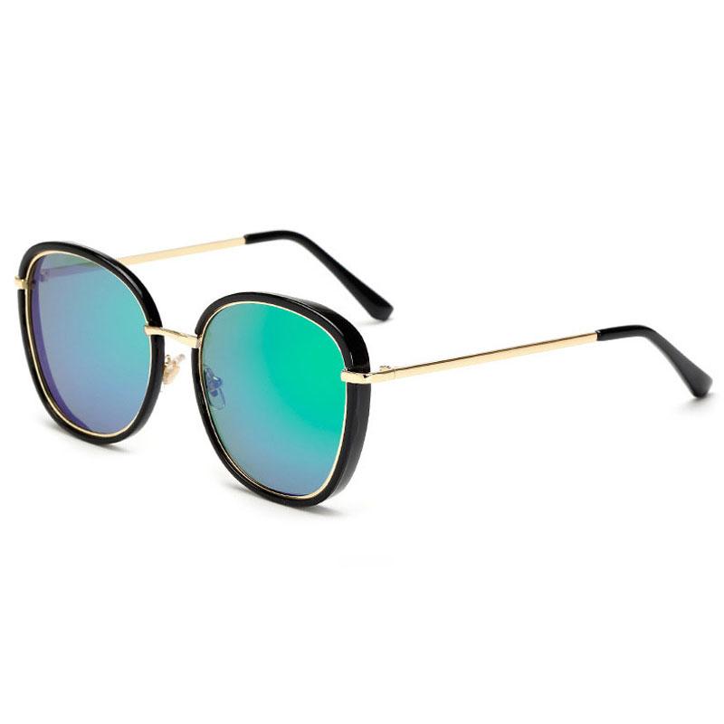 LIKEU S NO4 Black &amp Модные солнцезащитные очки Солнцезащитные очки Oversiz