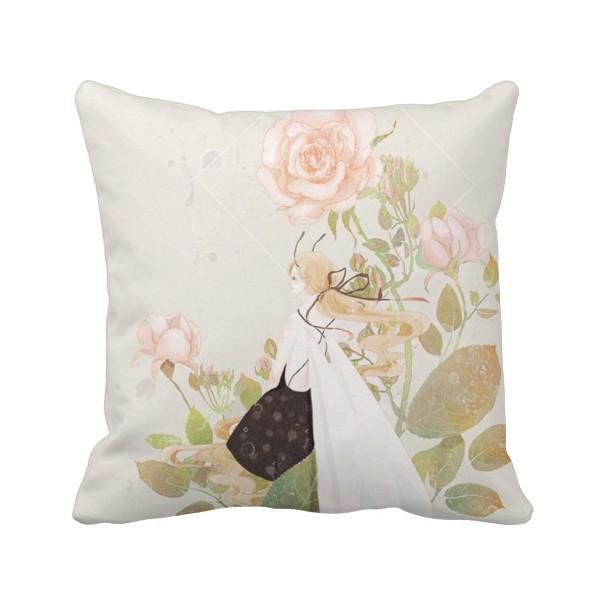 DIYthinker merry christmas grass cushion throw pillow case