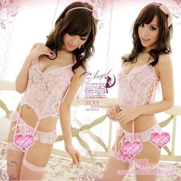CANIS Розовый цвет женское белье