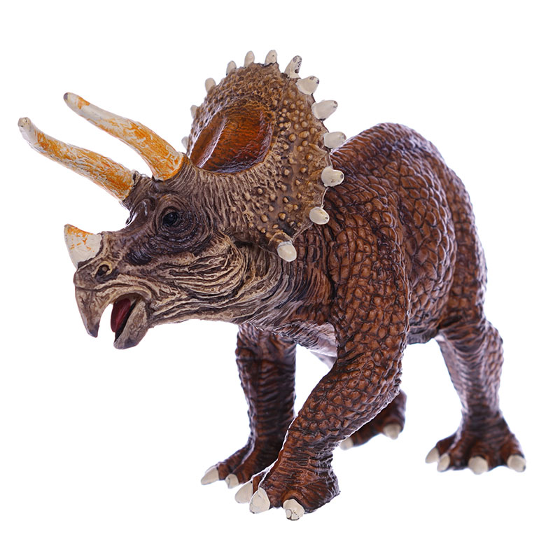 NEW CANNA ANIMAL KINGDOM трицератопс 2017 new edage simulated dinosaur animal model 1 35 resin born triceratops cub children s toys
