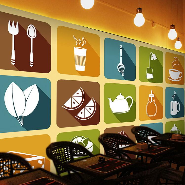 Colomac White минималистский ресторан