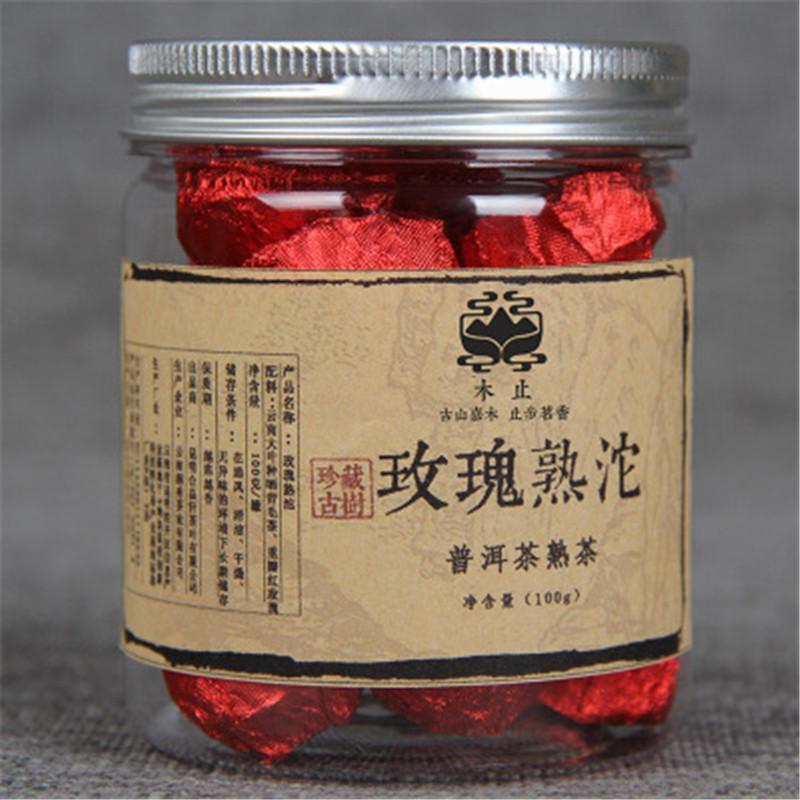 Чай Yunnan Rose Puerh чайный чай ebony