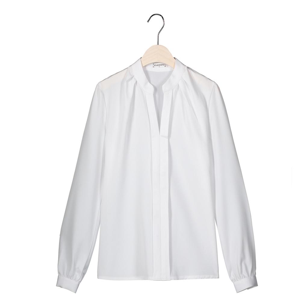 SPARSHINE Белый Номер XL блузки elegancestyle блузка фреска