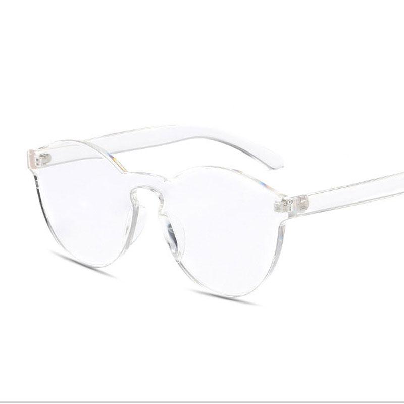 LIKEU S NO10 Белый Круглый солнцезащитные очки для девочек colorexclusive sungl 001