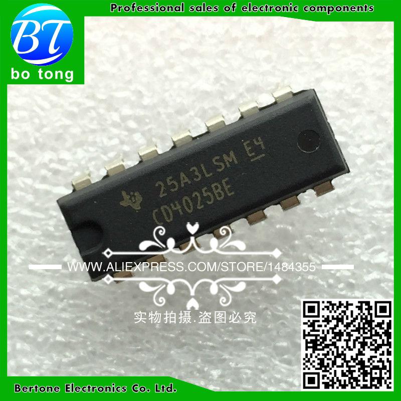 IC 10pcs cd4002be dip 14 cd4002 dip free shipping