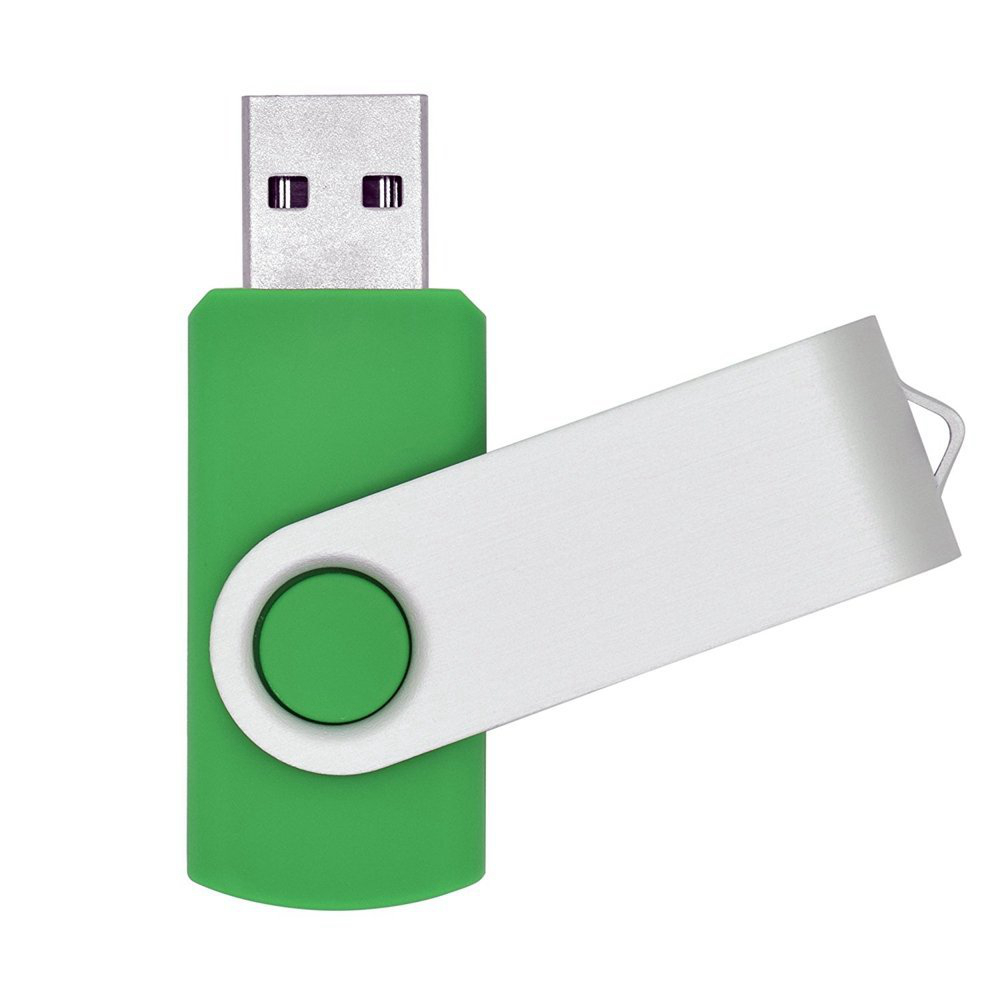 FILLINLIGHT зеленый 4GB ourspop u018 metal usb 2 0 flash drive green silver 4gb