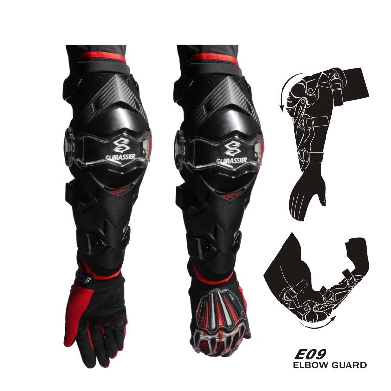 cuirassier E09 Красный Свободный размер защитные колпаки для мотоциклов kneepad protective kneepad protector mx off road