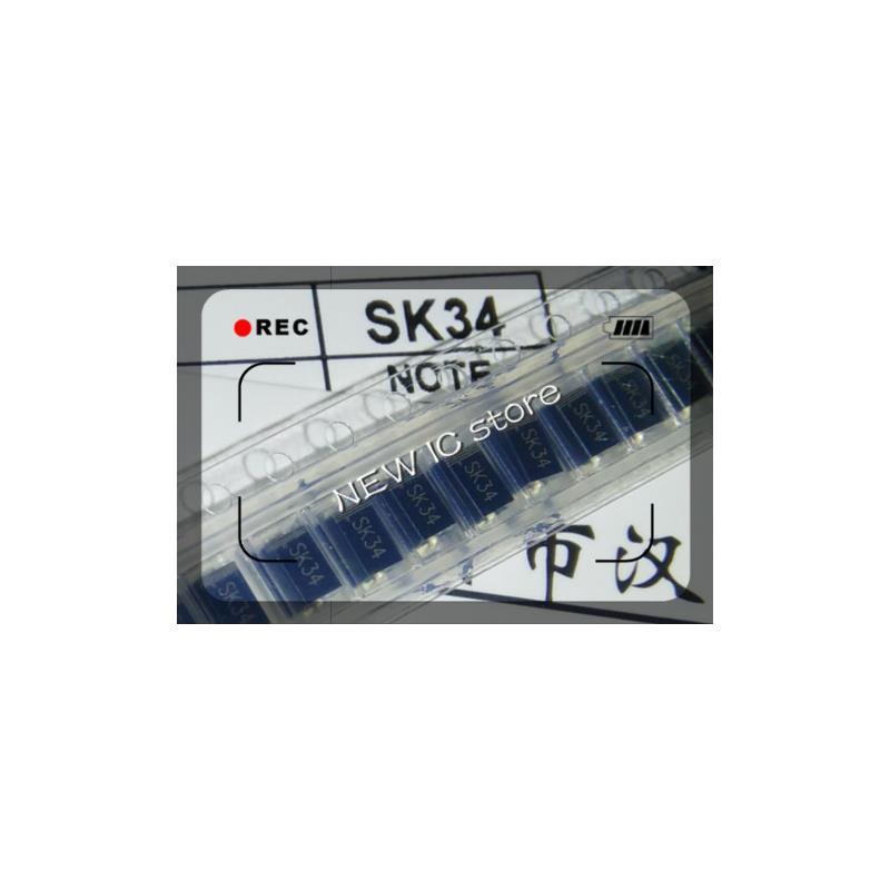 IC 50pcs lot 1n5822 in5822 sr340 dsk34 3a40v making k34 sod 123fl free shipping