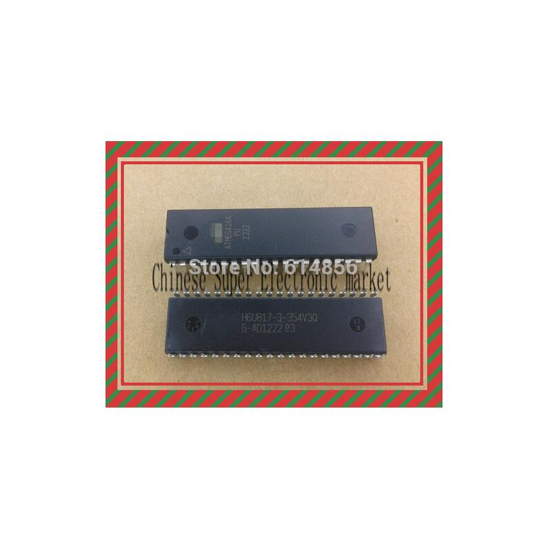 IC free shipping 2pcs new atmega16 atmega16a pu avr microcontroller dip40