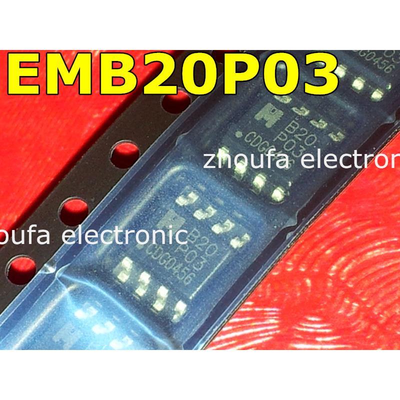IC free shipping 5pcs emb20p03g 20p03 b20p03 sop8 in stock
