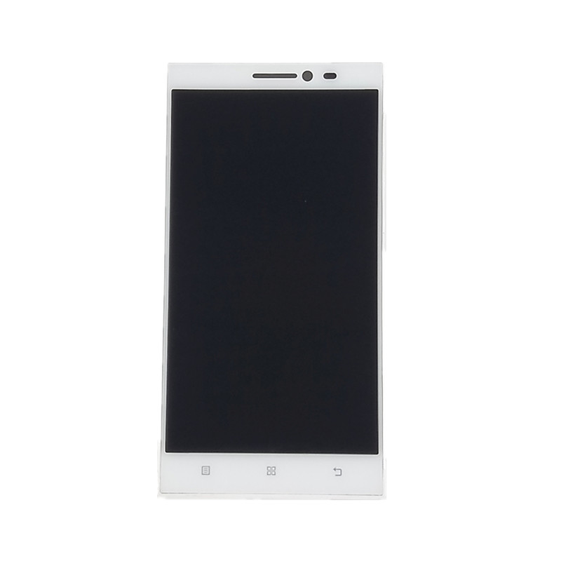 jskei Белый с рамкой free shipping touch screen with lcd display glass panel f501407vb f501407vd for china clone s5 i9600 sm g900f g900 smartphone