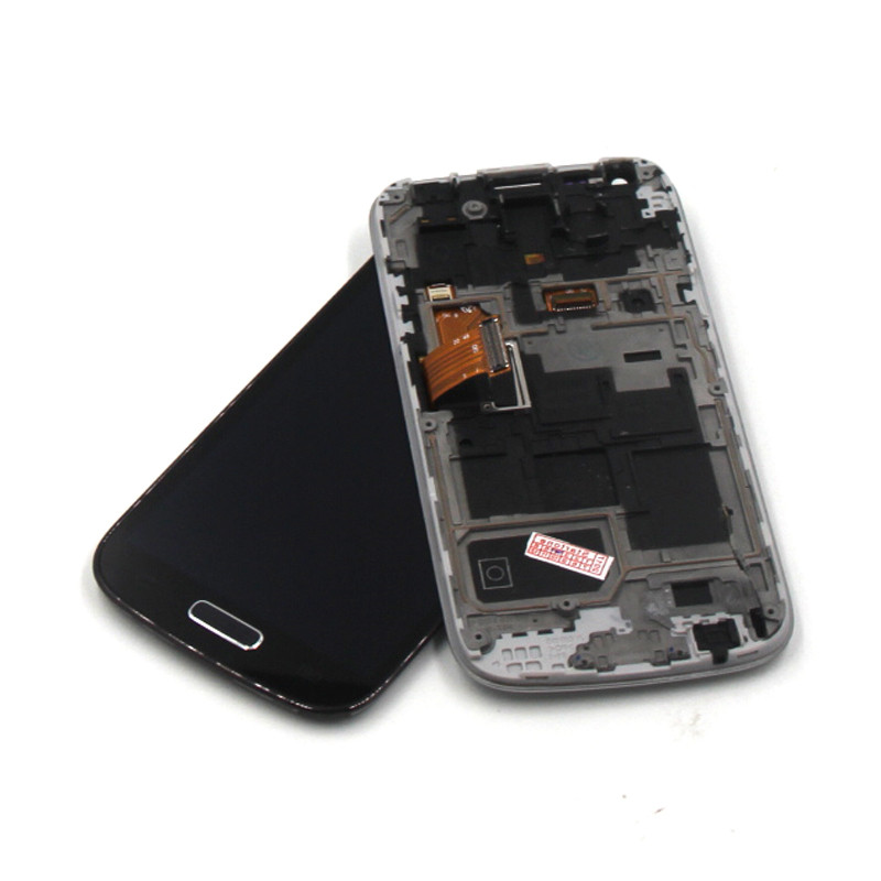 jskei Синий цвет for samsung galaxy s4 active i9295 blue lcd touch digitizer screen frame assemblyy