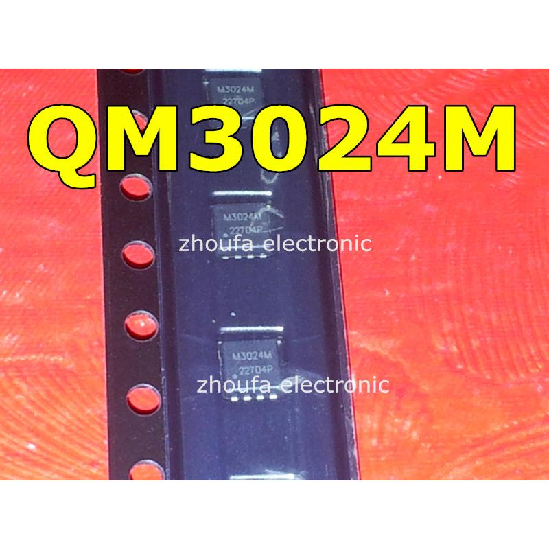 IC free shipping 5pcs lot m3024m qm3024m qfn8 laptop p new original
