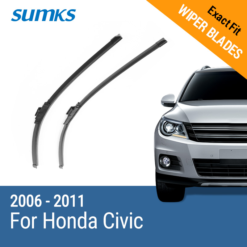 SUMKS Для LHD системы sumks wiper blades for honda insight 26