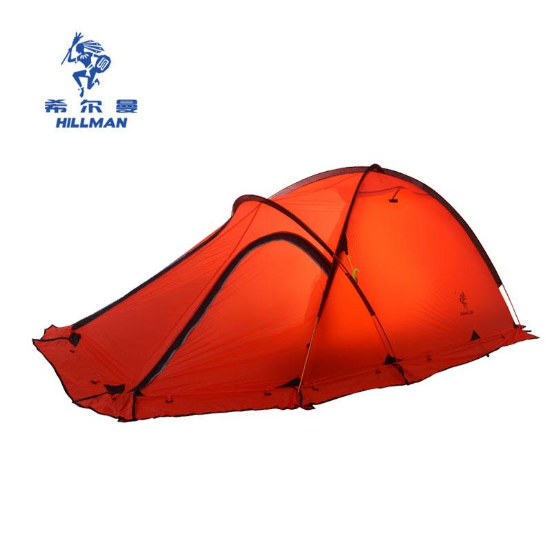 HILLMAN Красный цвет двойной naturehike ultralight camping tarp anti uv sun shelter awning canopy beach tent large beach shade with poles