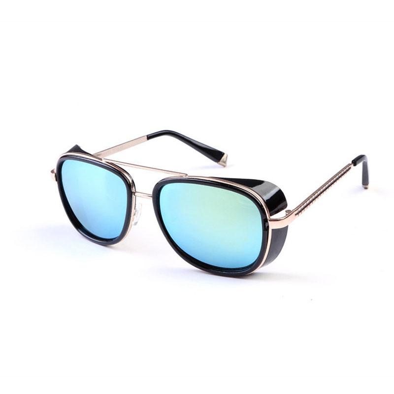 LIKEU S NO4 Black &amp Классические солнцезащитные очки Steampunk
