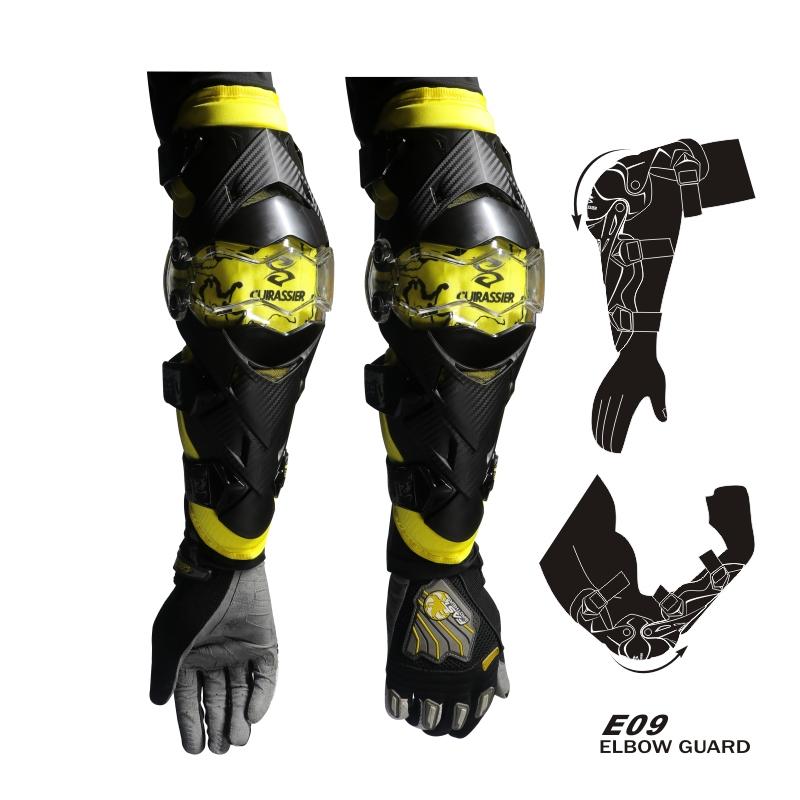 cuirassier E09 Желтый Свободный размер защитные колпаки для мотоциклов kneepad protective kneepad protector mx off road