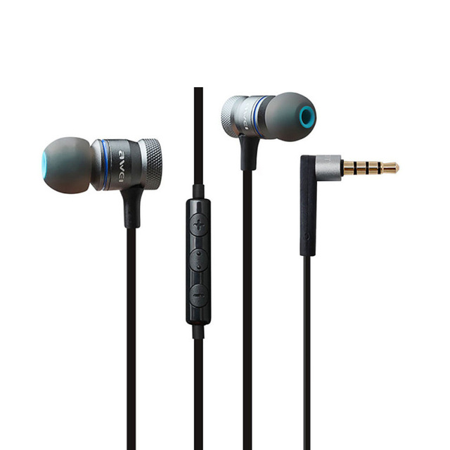 hongsund Серый gsdun brand earphones sport headphone housing headset noise isolating hd hifi running auriculares fone de ouvido
