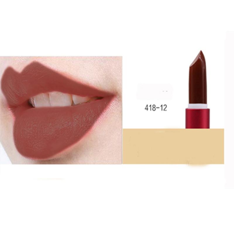Макияж помада макияж матовая помада мисс роза корейская косметика SINCEMILE 418-12 фото
