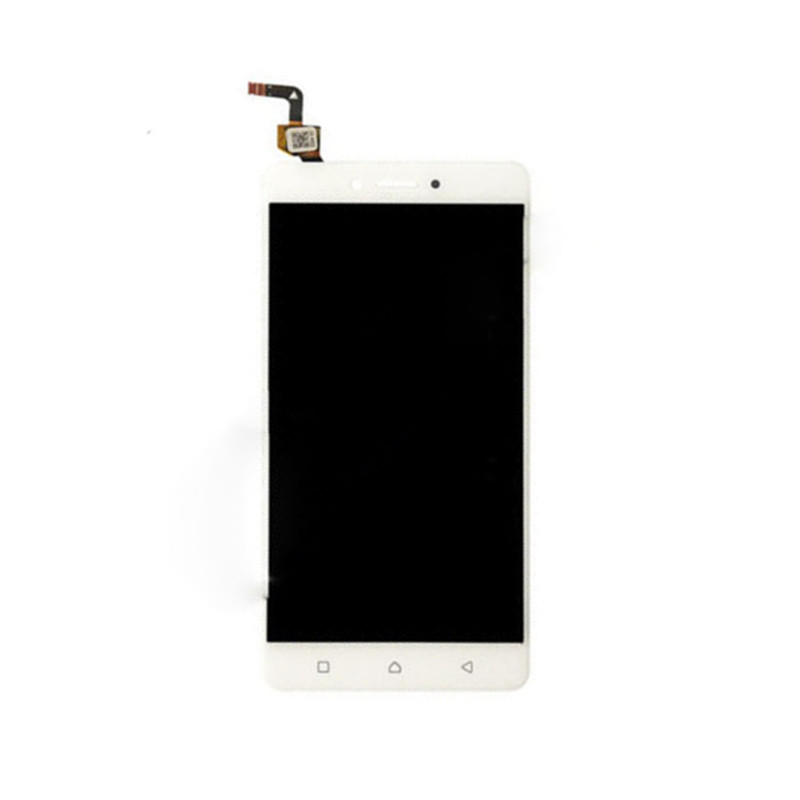 jskei белый 5pcs for lenovo k6 note lcd display with touch screen digitizer assembly original for k6 note replacement parts