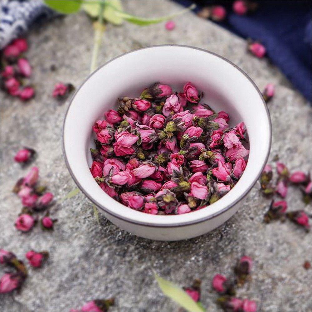100g органический сушеный цветок персика цветочный бутон тао хуа ча естественный цветочный чай