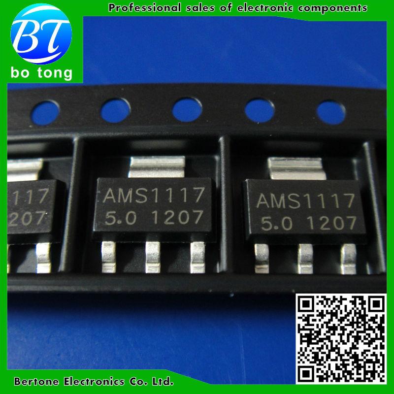 IC 200pcs lot ams1117 2 5 ams1117 2 5v 2 5v 1a voltage regulator ldo sot 223