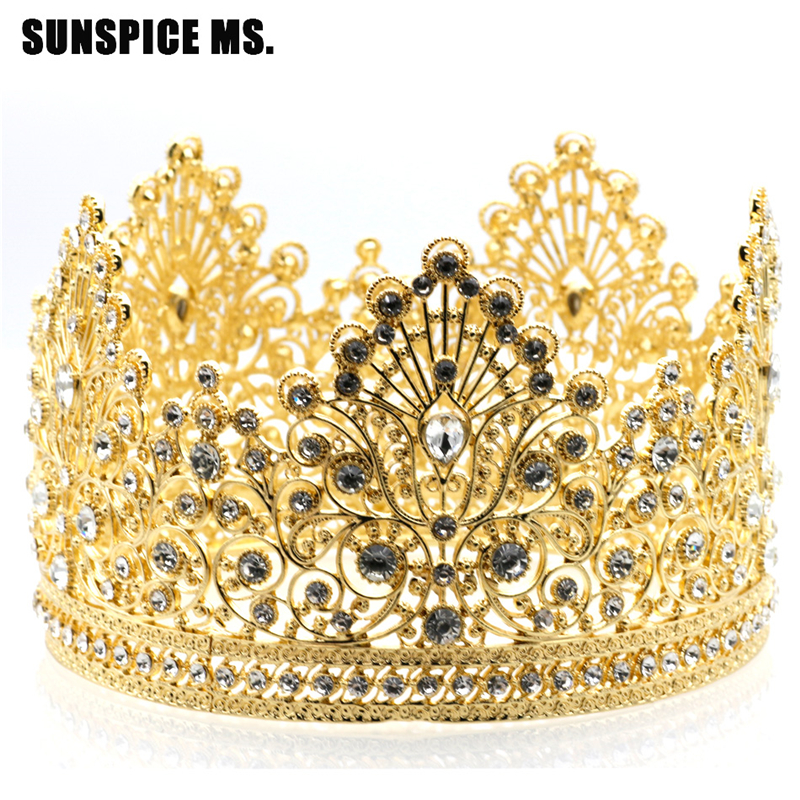 SUNSPICE MS классический gothic flower crown garland for women
