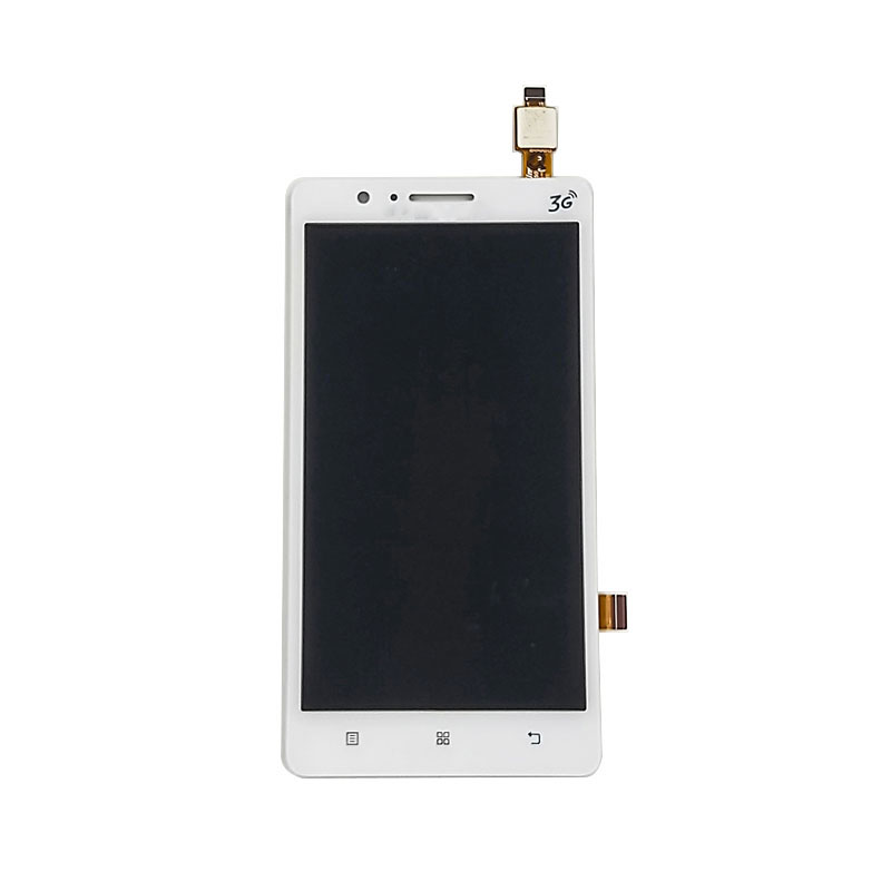 jskei белый 10pcs lot high quality 5 0 for lenovo p70 p70t lcd display screen with touch screen digitizer assembly free shipping