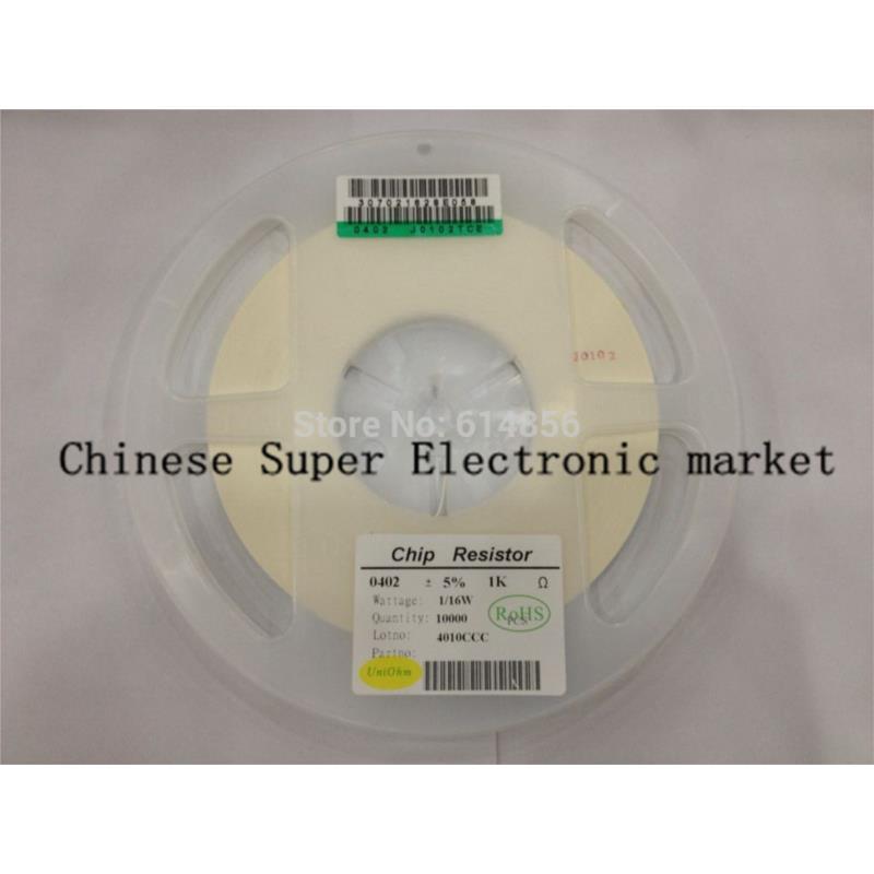 IC 10000pcs chip resistor 0402 smd resistor 82r ohm 5% hot sales