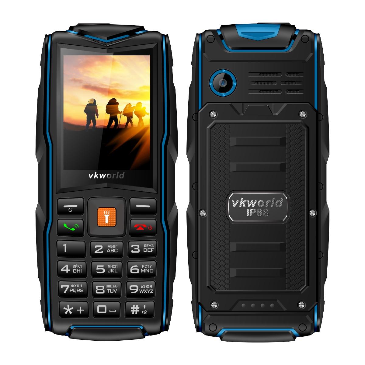 vkworld Синий цвет Евровилка tw520b bluetooth v3 0 partner gsm watch phone w 1 54 resistive screen quad band white