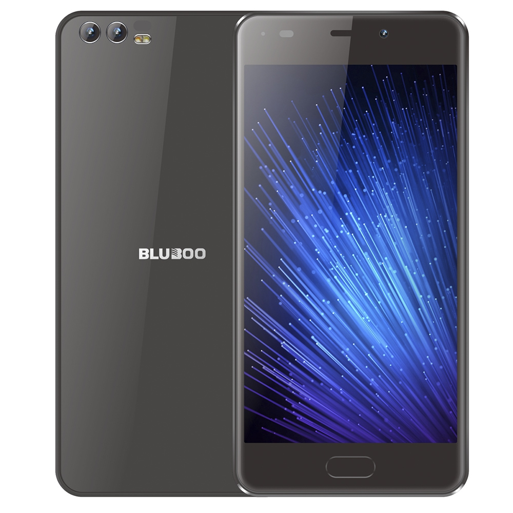 BLUBOO Черный Евровилка bluboo picasso 5 0inch ips hd android 5 1 smartphone black