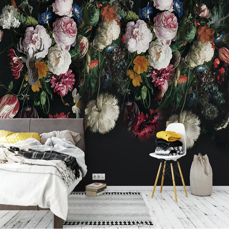 Colomac beibehang european style fine nonwoven fabric imitation papel de parede 3d wallpaper bedroom background simple plain wall paper