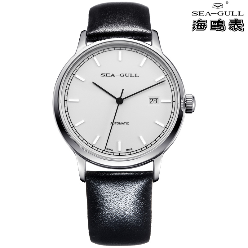 SEA-GULL 819125039 Современный минимализм sea gull special limited commemorative edition 60th anniversary of china first automatic dress watch 3 hands with date 816 661