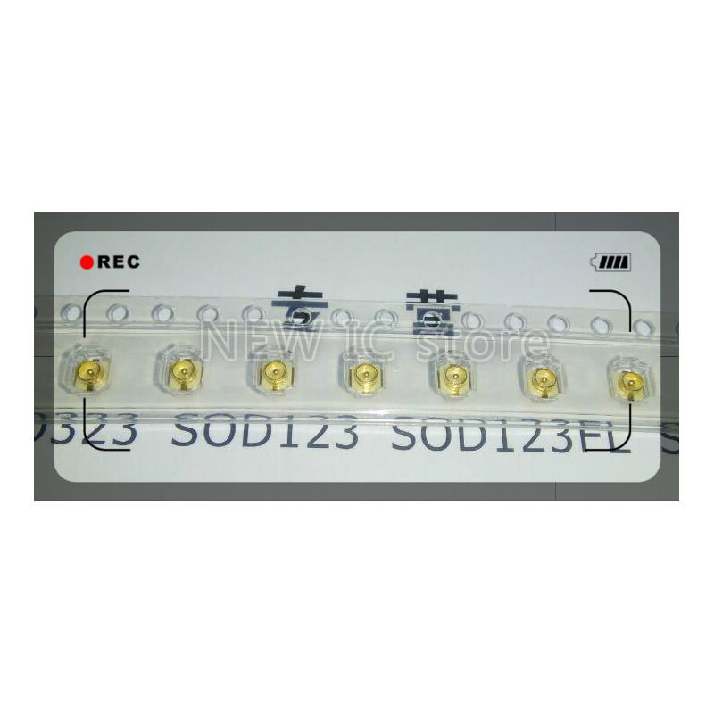 IC 10pcs gold sma female sma ke jack solder pcb clip edge mount straight rf adapter connector 18mm