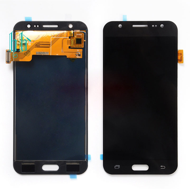 jskei Черный lcd display for samsung galaxy s5 g900 g900f high copy can adjust britness touch screen digitizer assembly replacement parts