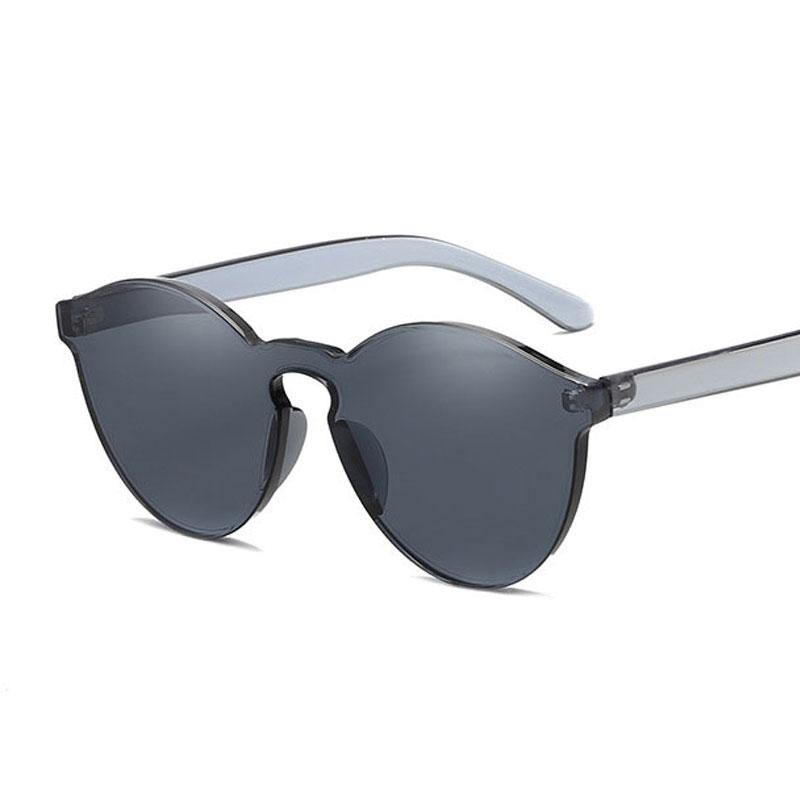 LIKEU S NO1 Серый Круглый солнцезащитные очки для девочек colorexclusive sungl 001