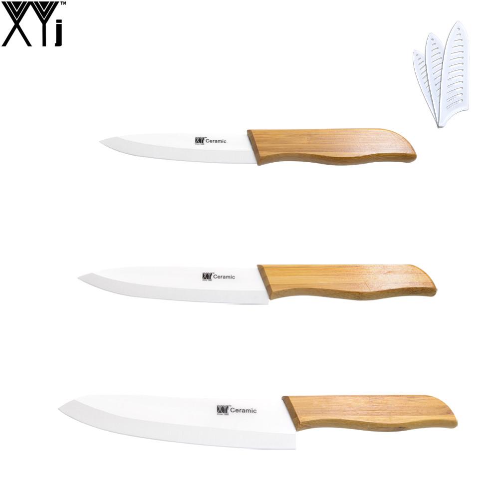 XYJ Белый Керамика xyj 3 кожура 6 шеф повар керамический нож peeler 3шт ножи кухонные ножи sharp cooking лучшие подарки