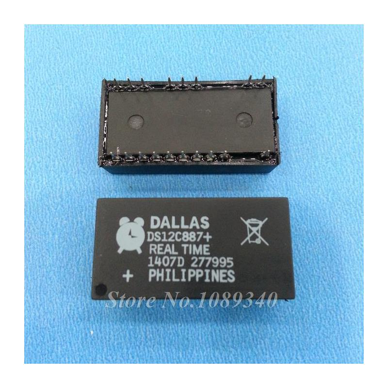 IC 2pcs lot ds12c887 ds12c887 original authentic and new free shipping ic
