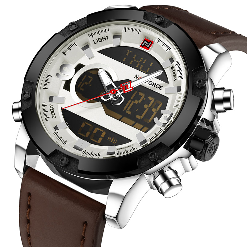 NAVIFORCE Белый mne watch naviforce 2015 naviforce relogio watches n 9022