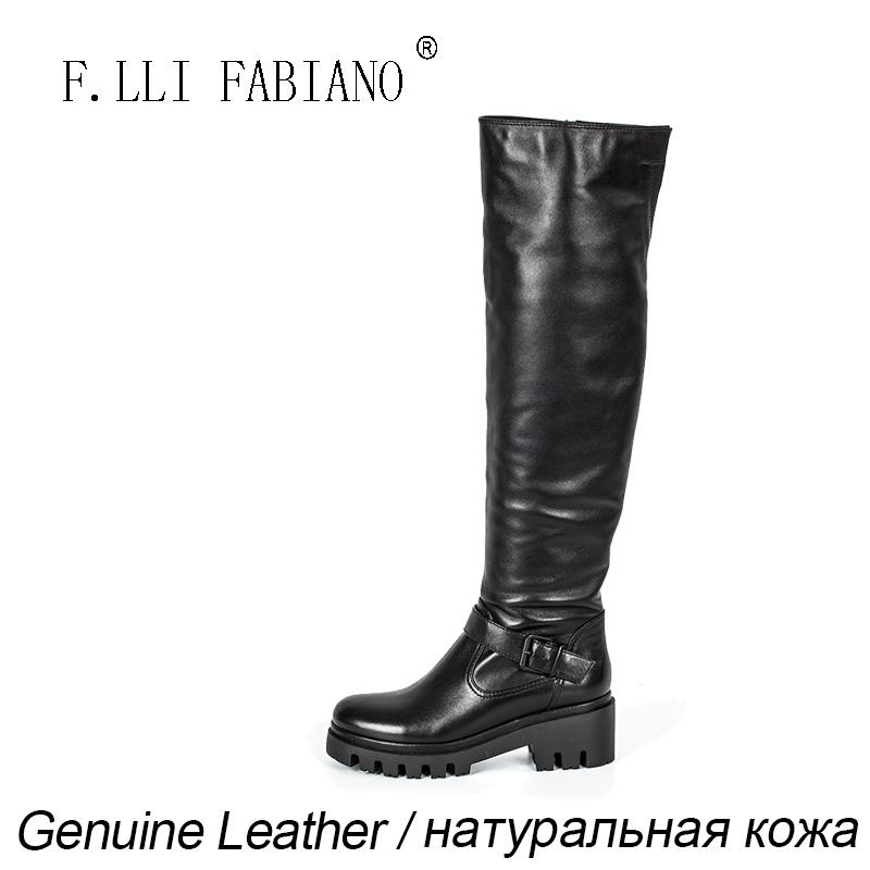 FLLI FABIANO кожаные сапоги
