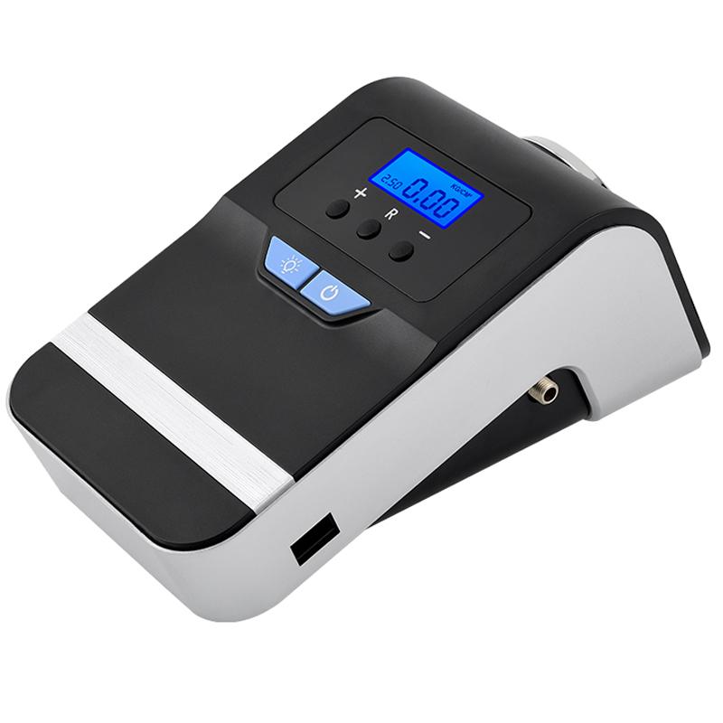 JD Коллекция Автомобильный воздушный насос CZK-3627 По умолчанию автомобильный цифровой дисплей inflator dc 12v 100psi шинный насос электрические компрессоры воздушный компрессор портативный для