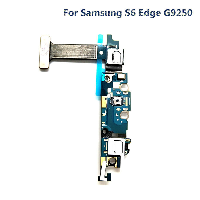 jskei Для Samsung S6 Edge G9250 charging port dock connector flex cable for samsung galaxy s6 edge g925f g9250 g925t g925p g925v g925a g925i g925w8 g925s