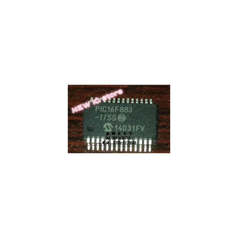 IC 50pcs lots pic16f883 i ss pic16f883 ssop 28 100%new original ic in stock in stock