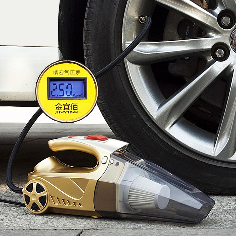 JD Коллекция Четыре в одном автомобиле с цифровым дисплеем дефолт автомобильный цифровой дисплей inflator dc 12v 100psi шинный насос электрические компрессоры воздушный компрессор портативный для