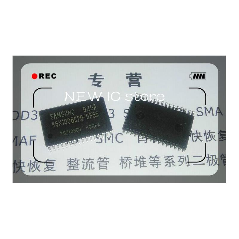 IC free shipping 10pcs k6x1008c2d gf55 in stock