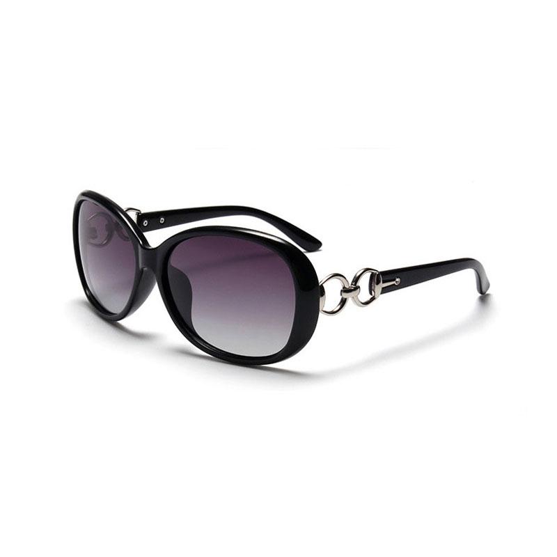 LIKEU S NO1 Black &amp Модные солнцезащитные очки Поляризованные солнцезащитные очки